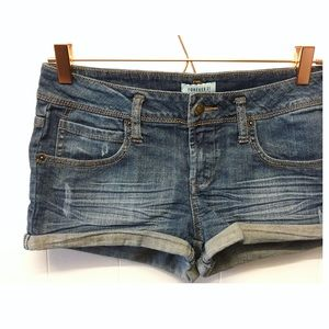 Forever 22 | Denim Shorts Cuffed Edges Jean Shorts